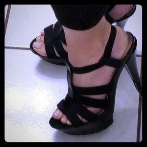 Black Jessica Simpson heels.
